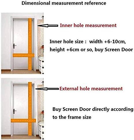 FTFTFTF Puertas con mosquitero, Cortina magnética Premium Cerrado automáticamente, Plegable, ventilación, para Sala de Estar, Puerta de Patio,1,110x220cm: Amazon.es: Hogar