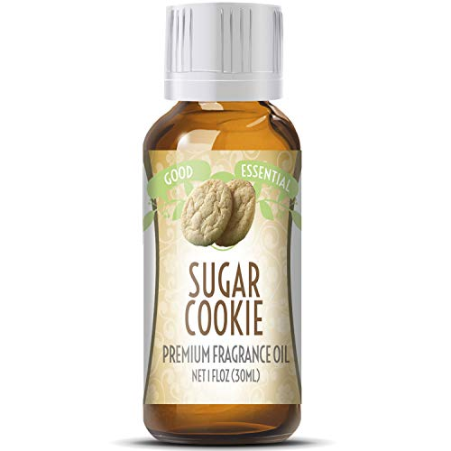 Sugar Cookies Scented Oil by Good Essential (Huge 1oz Bottle - Premium Grade Fragrance Oil) - Perfect for Aromatherapy, Soaps, Candles, Slime, Lotions, and More!