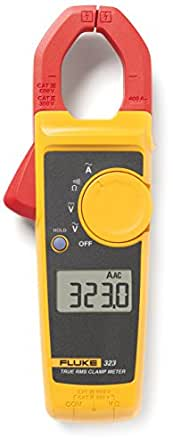 Fluke 323 True-RMS Clamp Meter with a NIST-Traceable Calibration Certificate with Data