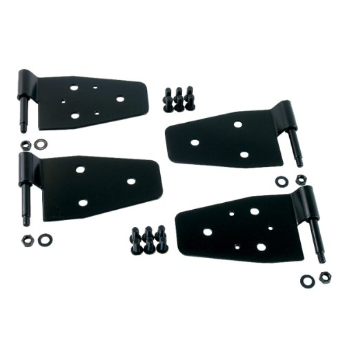 Rugged Ridge 11202.01 Black Door Hinge Kit