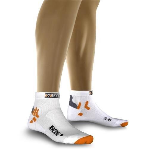 X-Socks Funktionssocken Biking Racing, White, 39/41, X020002