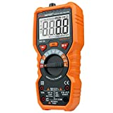 Shanglite Multimeter Voltmeter Ammeter with True RMS AC DC Voltage Resistance Capacitance Frequency Temperature NCV Tester
