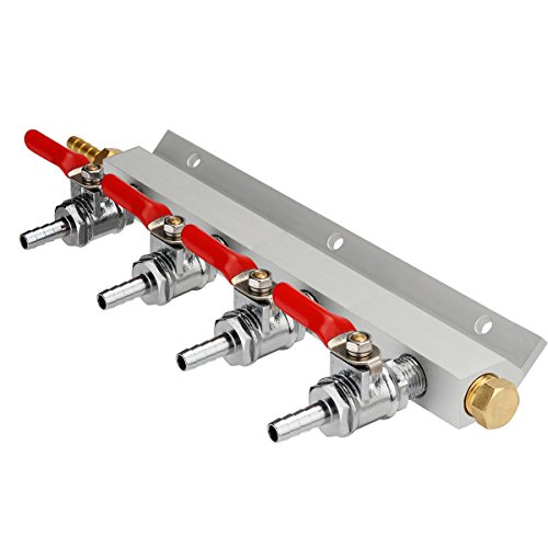 (Ferroday 2/3/4 Way Gas Manifold 1/4