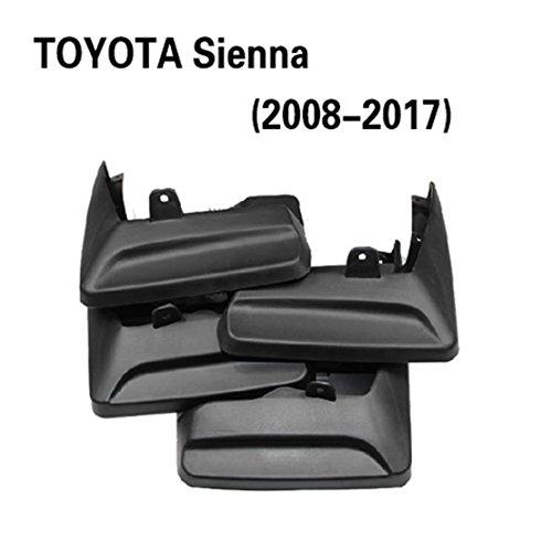 harley JD Toyota series splash guard for 2008-2017 TOYOTA Sienna 08-17 ()
