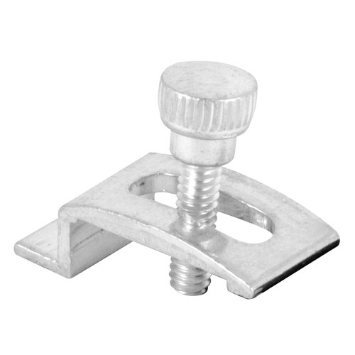 Prime-Line Products T 8724 Storm Door Panel Clip with Screws, 1/4-Inch, Aluminum,(Pack of 8) (Clips Storm Panel)