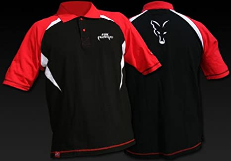 Fox Rage Cotton Polo Camiseta Polo Team Camiseta, tamaño: XXL ...