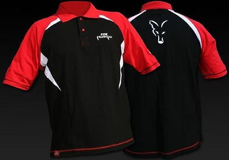 Fox Rage Cotton Polo Camiseta Polo Team Camiseta, tamaño: XXL ...