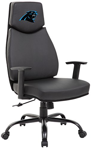 We Have The Best Seats In The House With Our New, Officially Licensed  Leather Office. PROLINE NFL Carolina Panthers Leather Office Chair