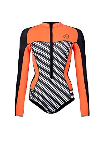 割引購入 Glidesoul B07K1KLL31 Women's Vibrant Stripes Collection [並行輸入品] 0.5mm Spring Suit Stripes Glidesoul Print/Black/Peach Large [並行輸入品] B07K1KLL31, 清すトア:f349da18 --- tadkarecipes.com