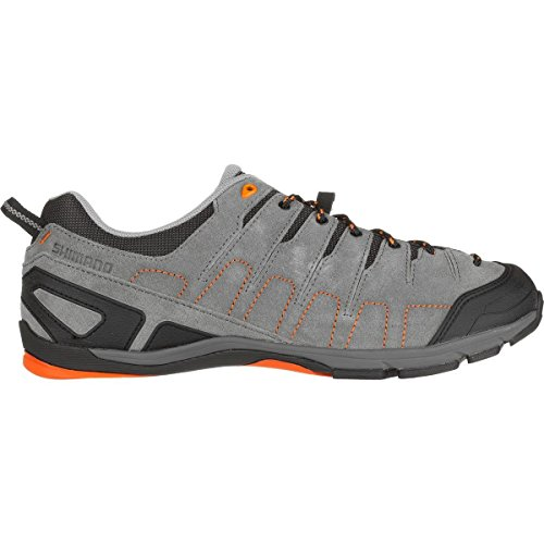 Shimano SH-CT80 Cycling Shoe - Men's Grey/Orange, 43.0