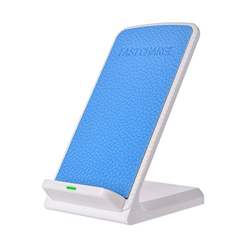 Wireless Charger, YKD Charging Stand 2 Coil Qi Wireless Charging stations for Samsung Galaxy S8 S8 Plus S7 S7 Edge Note 5 S6 Edge Plus Standard Qi-enabled devices