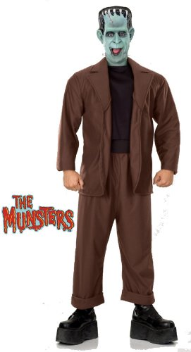 Munsters Costume, Herman, Brown,