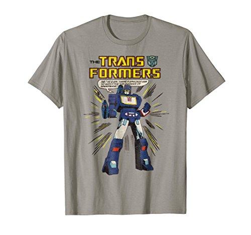 Transformers Soundwave Comic Strip T-Shirt