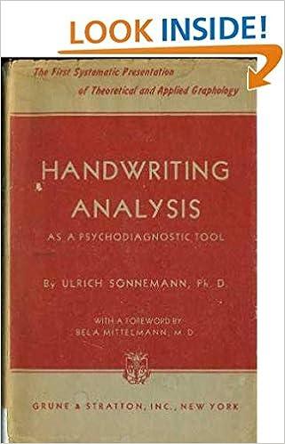 secrets of handwriting analysis