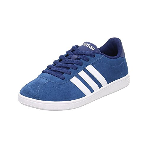 Adidas Vlcourt, Scarpe da Ginnastica Uomo, Blu (Azubas/Ftwbla/Azumis), 46 EU