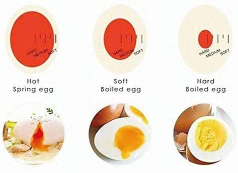 Delicious Boiled Egg Resin Timer Tool Kitchen Timer Egg Cooker Kitchen Egg Cooker 3pcs Egg Cooker