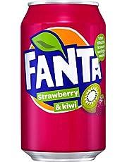 Fanta Strawberry & Kiwi (24 x 0,33 L blik)