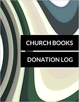 church books donation log donation log journals for all