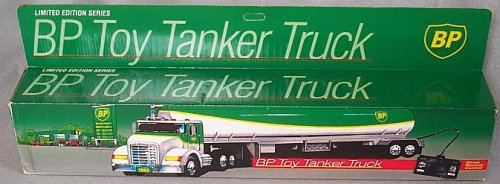 Price comparison product image Remote Controlled BP Gasoline Semi Tractor Trailer Toy Tanker - Special Limited Edition