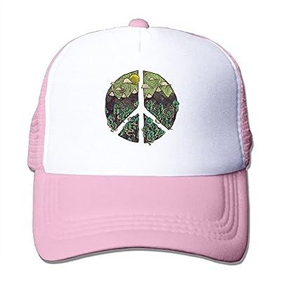 Nature Peace Sign Men's Women's Adjustable Snapback Hats Dad Hats | Baseball Caps Mesh Back