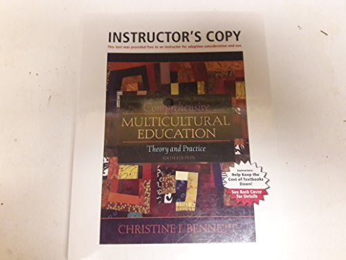 Comprehensive Multicultural Education Theory and Practice Instructor's Copy