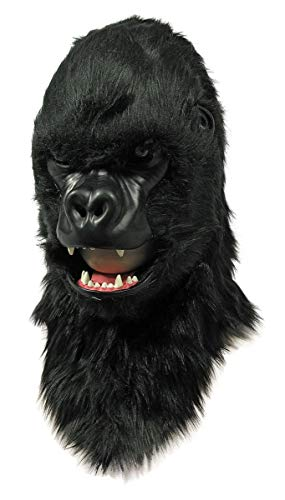 Forum Novelties Moving Mouth Adult Mask, Gorilla ()