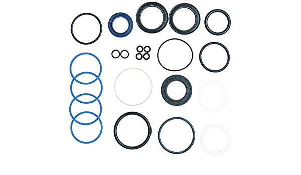 Snap Ring ACDelco 36-348592 Professional Steering Gear Pinion Shaft Seal Kit with Clamps Seals and O-Rings