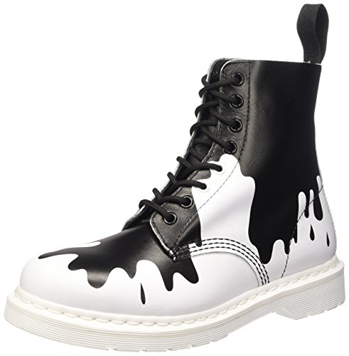 Eye Black White Pascal Boot Martens 8 Dr Men's qPxfwfT