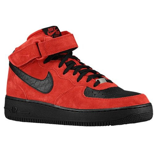 Nike Men's Air Force 1 Mid '07 Basketball Shoe (7 D(M) US, Red)