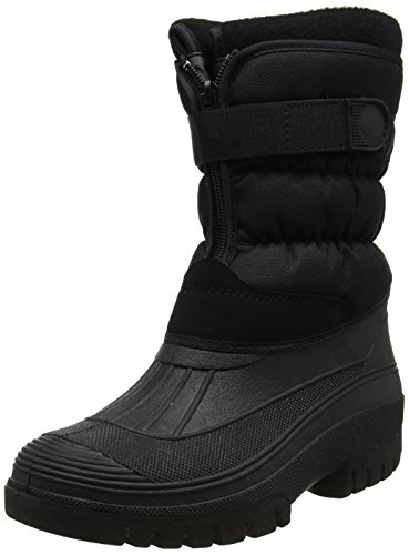 Mucker Wellies Stable Black Easy Yard Close Ladies Boots q7f6wYYd