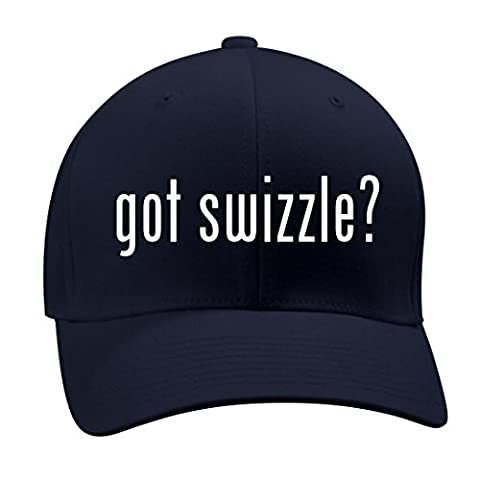 got swizzle? - A Nice Men's Adult Baseball Hat Cap, Dark Navy, Large/X-Large - Glenna Jean Jeans