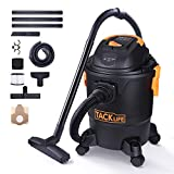 TACKLIFE Wet Dry Vacuum, 5 Gallon, 5.5 Peak HP with 20 FT Clean...