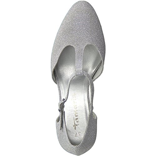 Escarpins Silver Glam Pour 31 Femme 24427 Tamaris q4BxE4