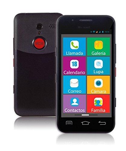 Wolder-mismart-XENIOR-Smartphone-45-512-MB-RAM-4-GB-Flash-WiFi-Android-Telfono-Mvil-para-Personas-Mayores