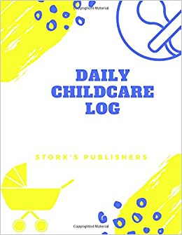 amazon com daily childcare log extra large 8 5 inches by 11 inches