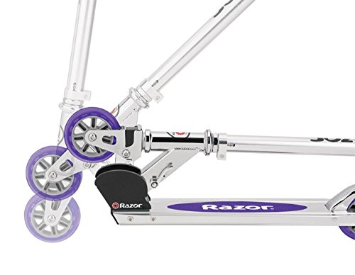 41y8FFm31jL - Razor A2 Kick Scooter (Purple)
