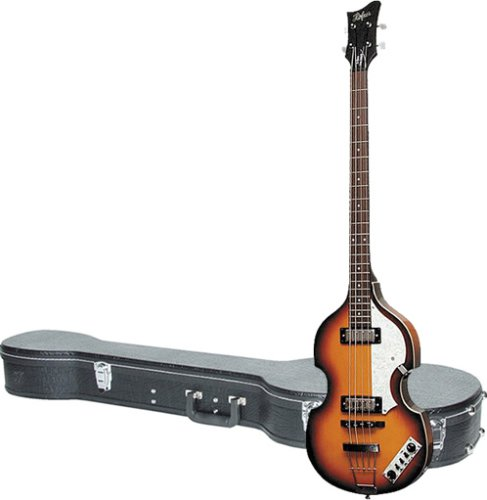 Hofner Icon Series Beatle Bass Left Handed Guitar with Ic...