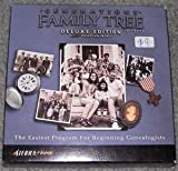 Generations Family Tree Software Deluxe Edition 6.0 Premier Genealogy Starter Kit