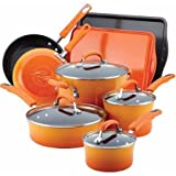 Best Rachael Ray Double Ovens - Rachael Ray Hard Enamel Nonstick 12-Piece Cookware Set Review