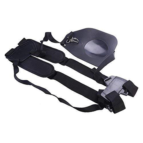Kisstaker Trimmer Harness Heavy Duty Trimmer Shoulder Strap Garden Lawn Mower Nylon Belt