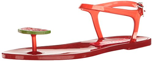 Katy Perry Women's The Geli Flat Sandal, Watermelon, 8 Medium US