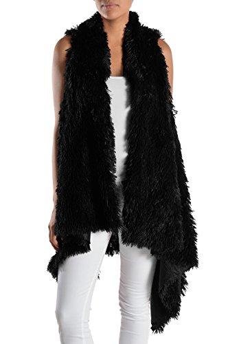 Long Fur Vest - 1