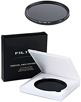 Gadget Place ND2 to ND400 Variable Neutral Density Filter for Nikon 1 Nikkor 10mm f//2.8