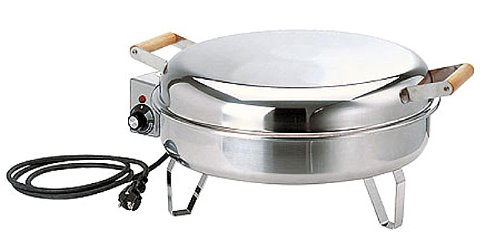 Muurikka Grill 2200W Edelstahl, elektrisch