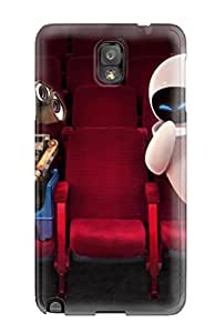 David Shepelsky's Shop New Style 7224697K81848172 Case Cover Wall E And Eve In Theater/ Fashionable Case For Galaxy Note 3