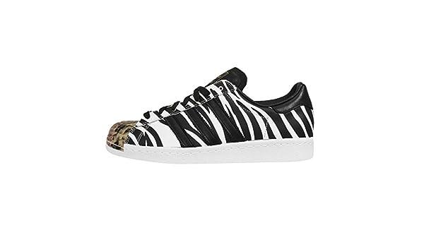 adidas superstar blanco zebra