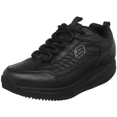 Skechers for Work Shape Ups XW Athletic Shoe,Black,6.5 M US