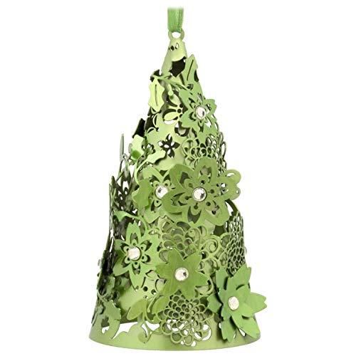 - Hallmark Signature Premium Christmas Ornament Christmas Tree, Green Metal
