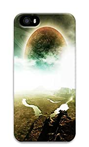 iPhone 5 5S Case Planetary Scene 3D Custom iPhone 5 5S Case Cover