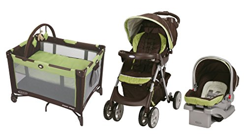 Graco Comfy Cruiser Click Connect Travel System with On-The-